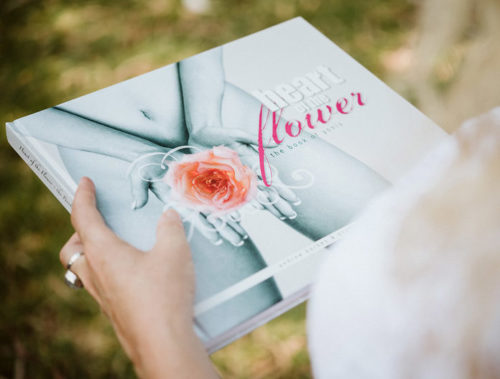 heart of the flower book